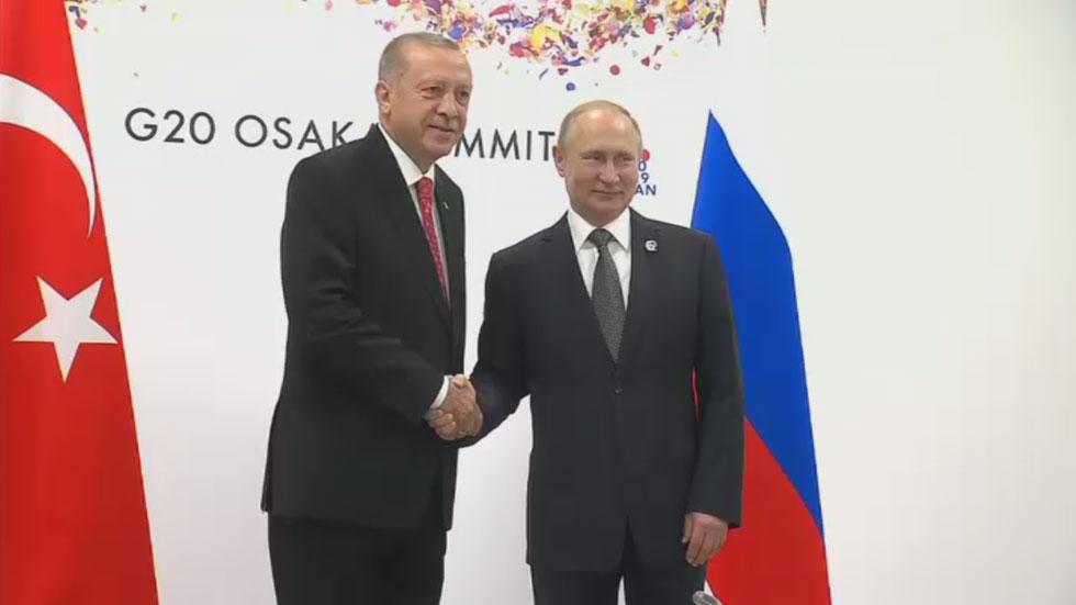"РТ: ""Нема кашњења"": Путин и Ердоган потврдили споразум о ПВО систему С-400 на маргинама Г20"