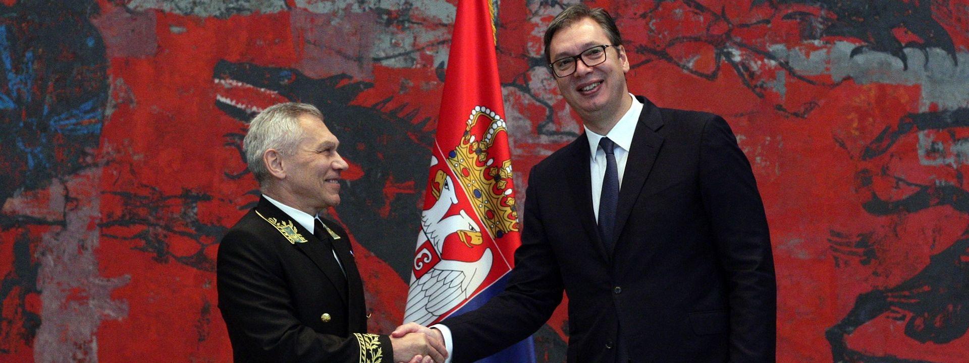 """""""Србија може да рачуна на чврсту подршку Русије у очувању територијалног интегритета и суверенитета"""""""