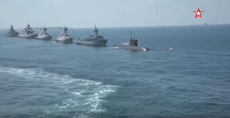 Парада Ратне морнарице Русије у Сирији