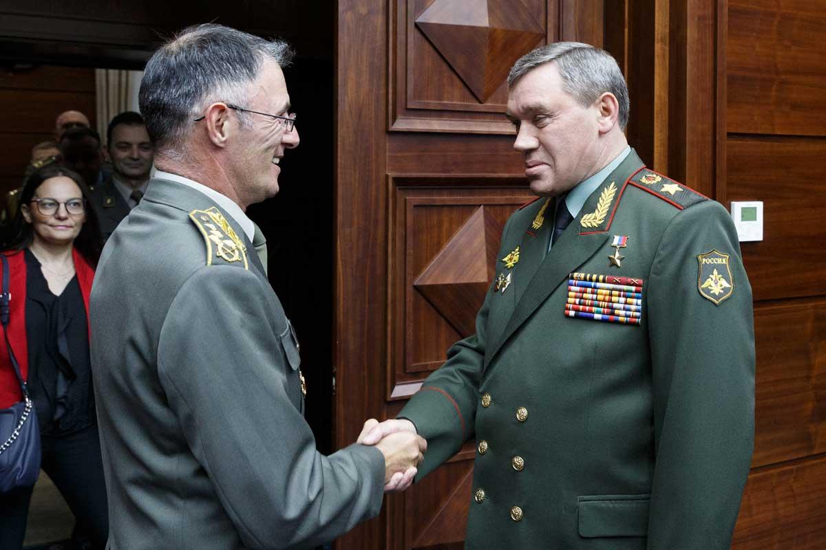 Герасимов: Партнерски односи Русије и Србије су стратешког карактера