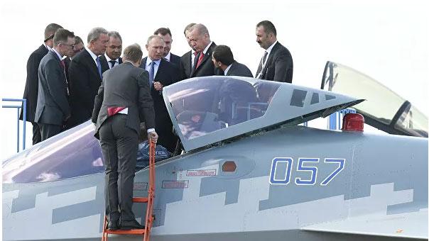 Putin pokazao Erdoganu avion pete generacije Su-57
