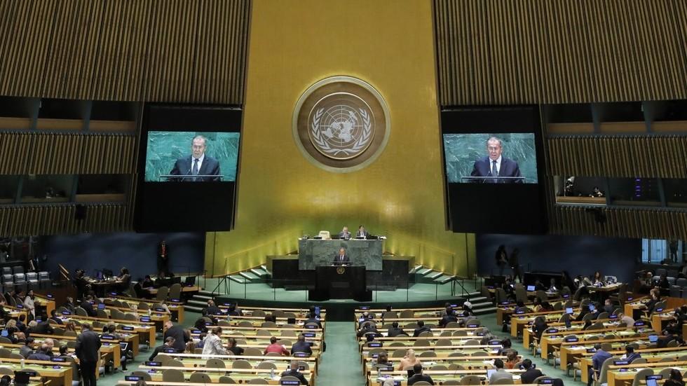 РТ: Тешко је Западу да прихвати да се његова вишевековна доминација смањује - Лавров у УН-у