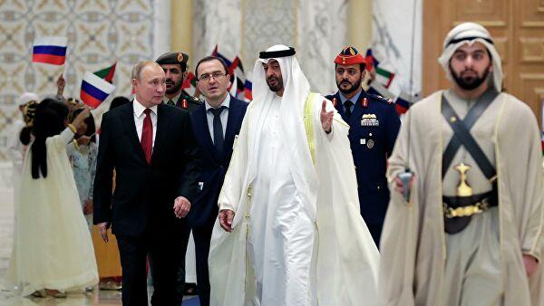 Regionalna pitanja, energija, kosmos i turizam: Teme razgovra Putina u Abu Dabiju