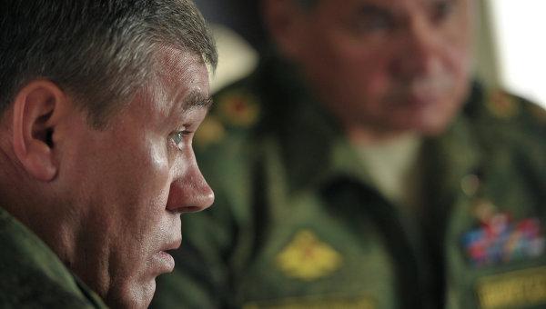 """Герасимов: Сваки корак Русије на пољу осигурања њене безбедности се од стране западних пропагандиста и лажних медија представља као """"претња миру"""""""