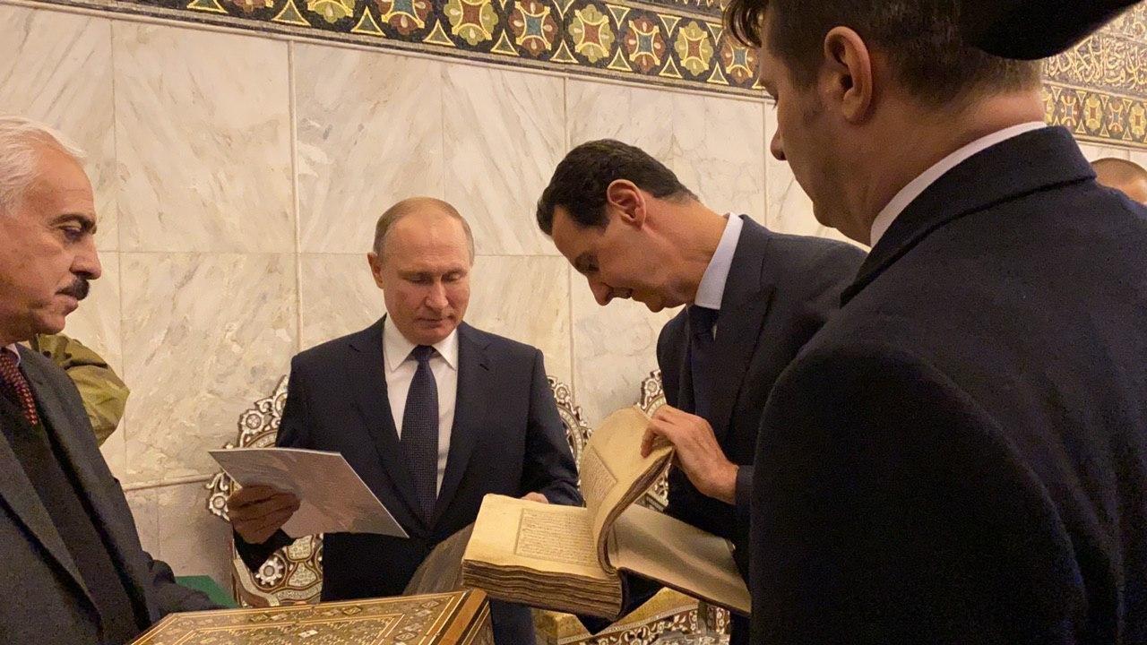 Путин у посети Сирији