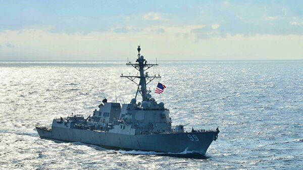 """Москва: Саопштење Пете флоте САД о наводном опасном приближавању руског брода разарачу """"Фарагут"""" није тачно"""