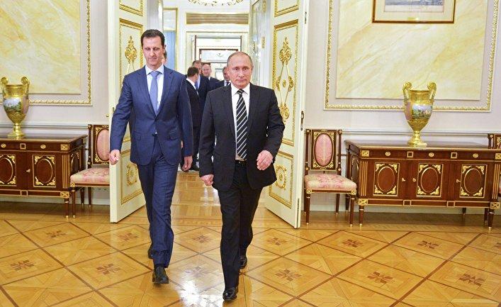 Putin predložio Asadu da pozove u goste Trampa