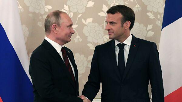 Putin i Makron razgovorali o situaciji u Libiji, Ukrajini i Iranu