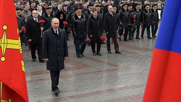 Rusija obeležava Dan branilaca otadžbine