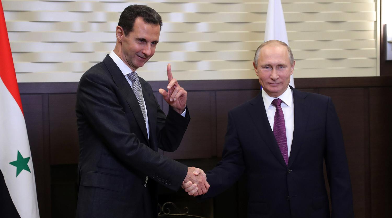 Путин честитао Асаду на успесима током борби у Идлибу