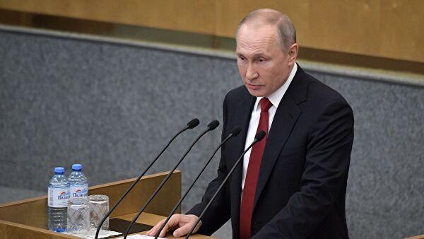 Путин: Русија ће достојно проћи кроз период нестабилности цена нафте и рубље