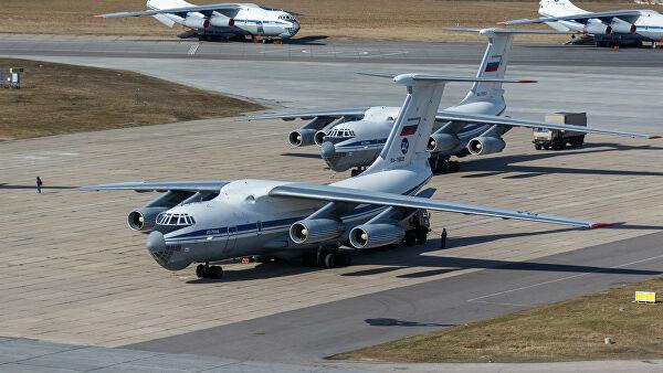 За Србију полетео четврти авион Ил-76 Ваздушно-космичких снага Русије