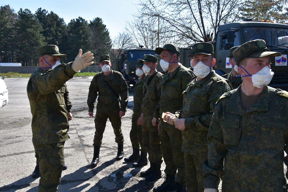 Руски војни лекари почели са пријемом пацијената у Србији
