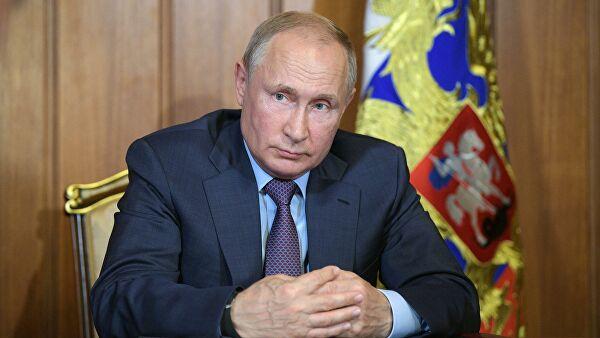 Видео-конференција председника Путина са члановима Владе о ситуацији и борби против коронавируса
