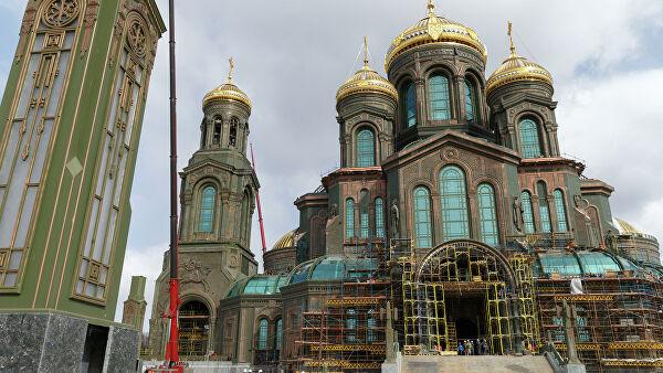 Путин одбио да се његов лик налази на мозаику цркве Оружаних снага Русије
