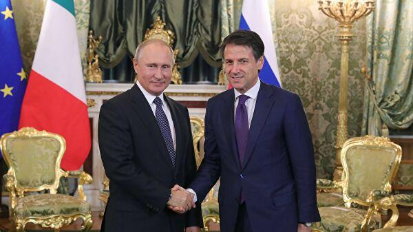 Путин и Конте позитивно оценили ниво пријатељских руско-италијанских односа