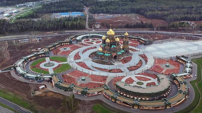 Завршен Главни храм Оружаних снага Руске Федерације