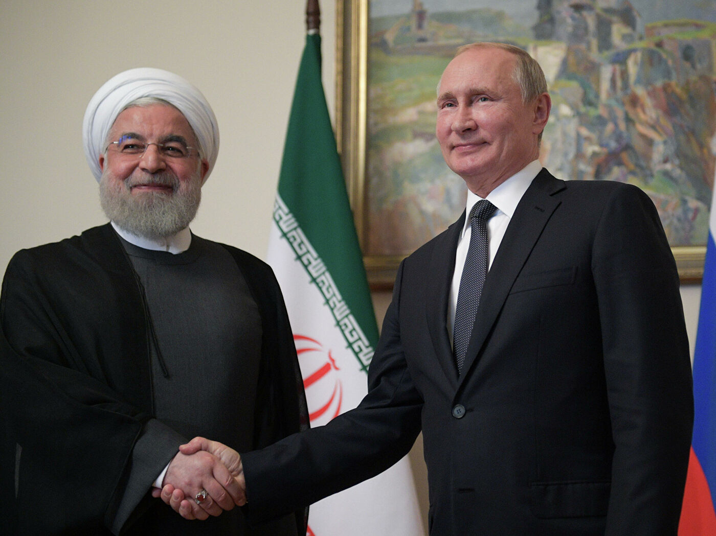 Путин и Рохани разговарали о Сирији, нуклеарном споразуму и укидању ембарга на оружје против Техерана