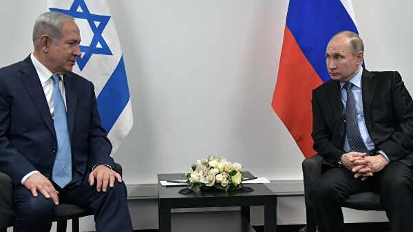 Путин и Нетанијаху разговарали о Сирији