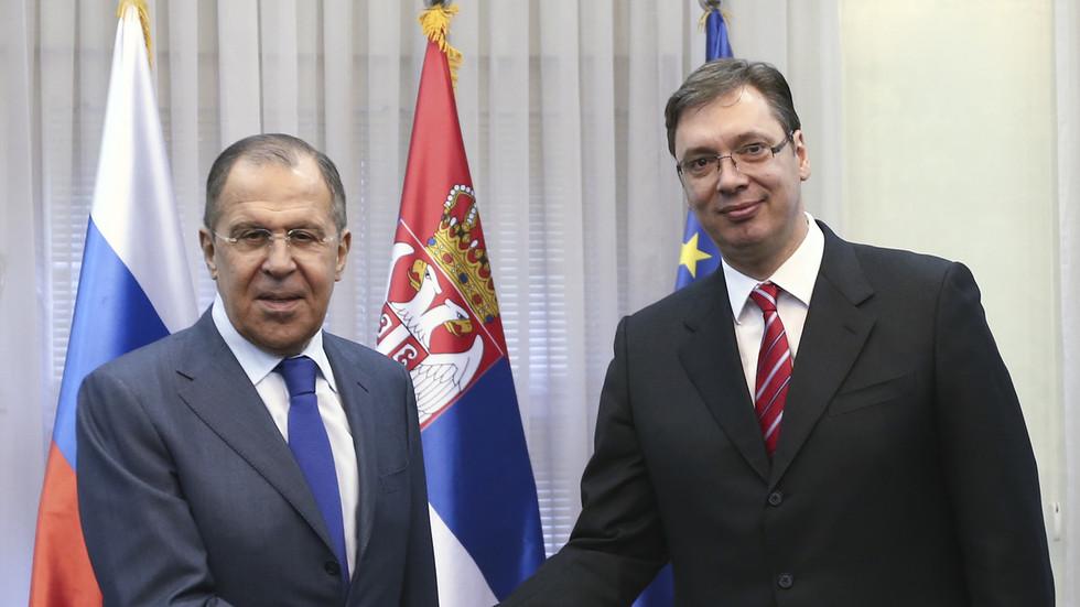 РТ: Србски председник обавестио Лаврова о споразуму са Приштином уз посредовање САД-а