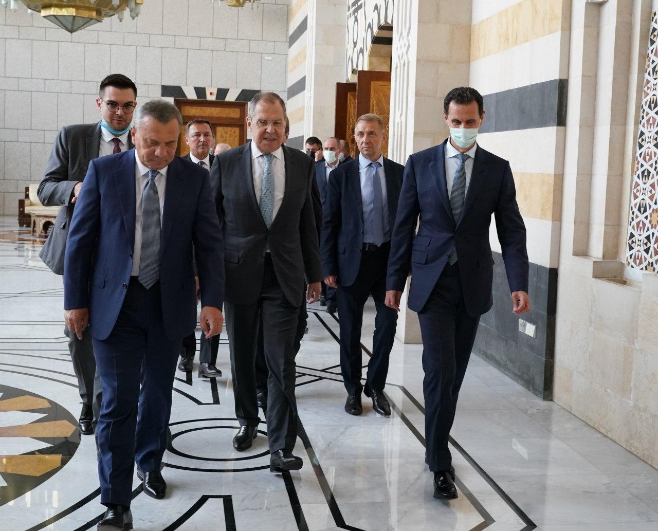 Русија ће наставити да пружа подршку Сирији да обнови контролу над свим њеним територијама