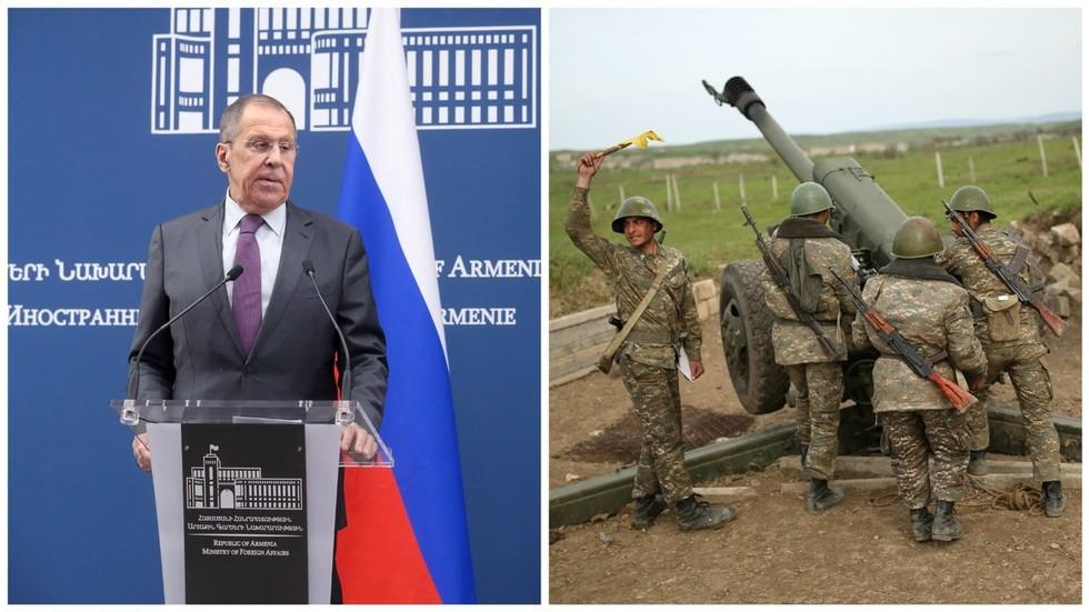 RT:  Moskva pozvala Jermeniju i Azerbejdžan da obustave neprijateljstva oko Nagorno-Karabaha, te da je spremna za posredovanje