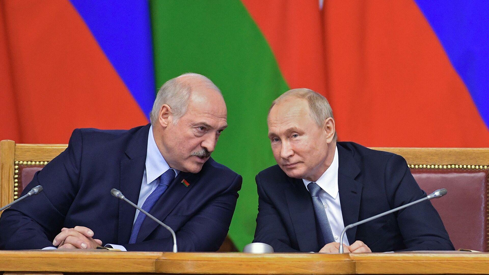 Путин: Односи Русије и Белорусије не подлежу ни времену ни политичкој ситуацији