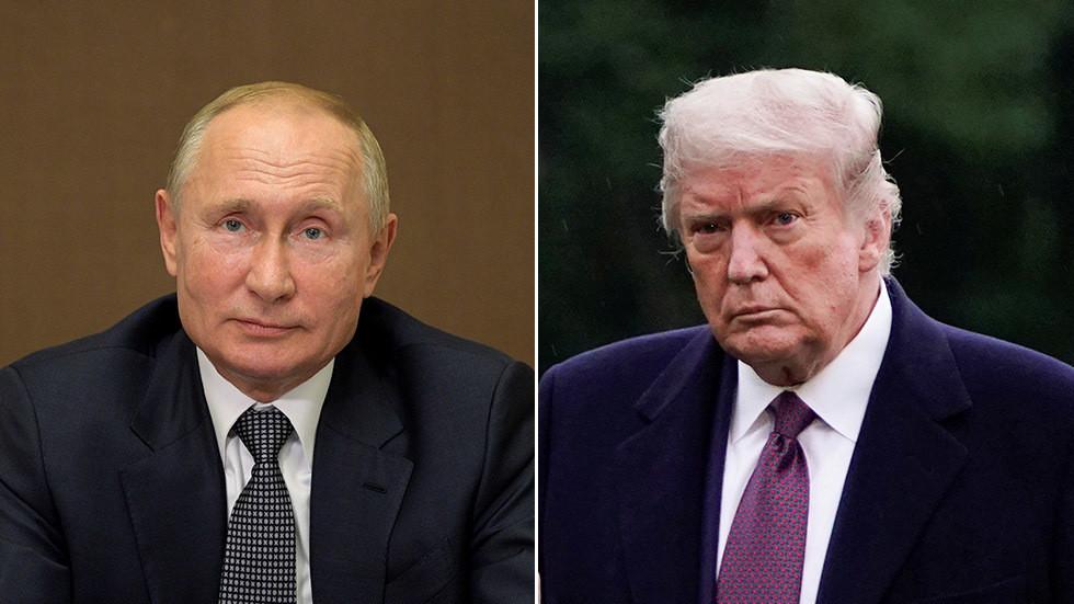 """РТ: Прави """"корисни идиоти""""? Путин каже да Трампови противници који користе """"руску карту"""" како би му нашкодили иду на руку Москви"""