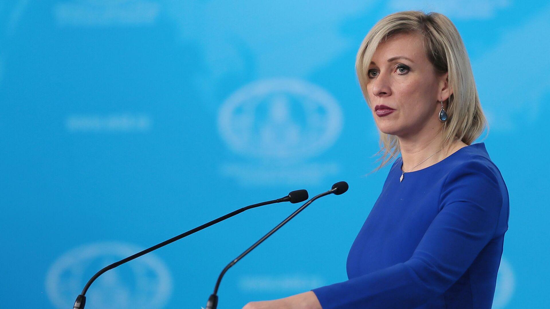 Захарова: Земље НАТО-а исхитрено одбациле предлог председника Владимира Путина о ракетама средњег и кратког домета