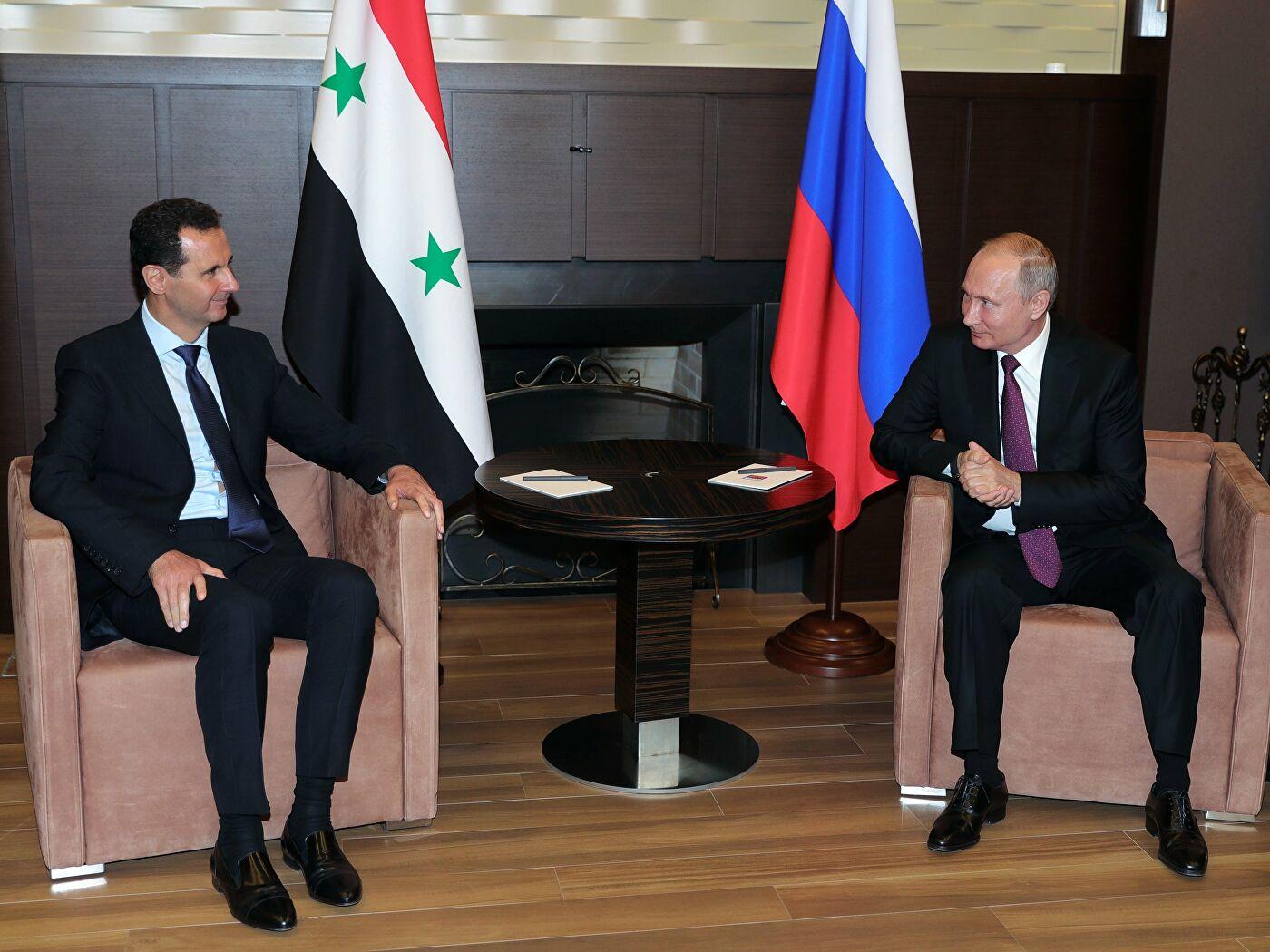 Putin i Asad razgovarali o sirijskim izbeglicama