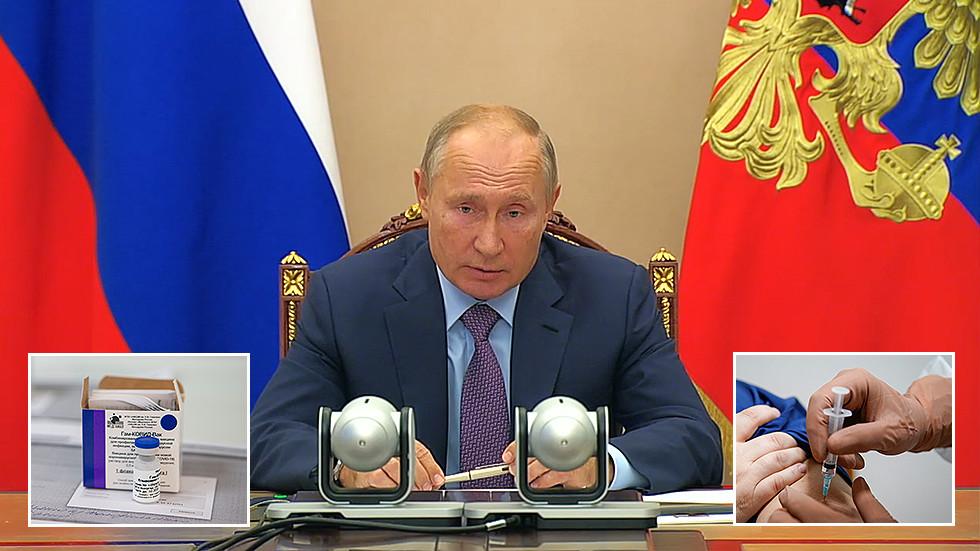 РТ: Путин наложио да се у Русији започне масовна вакцинација против коронавируса, почевши од следеће седмице са приоритетом на кључне професије