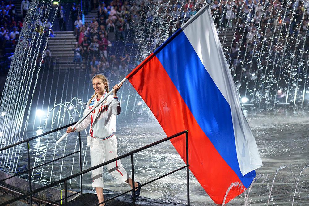 Rusija žali zbog zabrane takmičenja njenim sportistima pod državnom zastavom i himnom