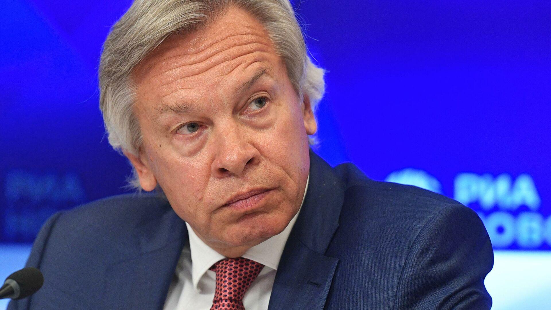 Puškov: Bajden će iskoristiti Ukrajinu kao jedan od aduta SAD-a protiv Rusije