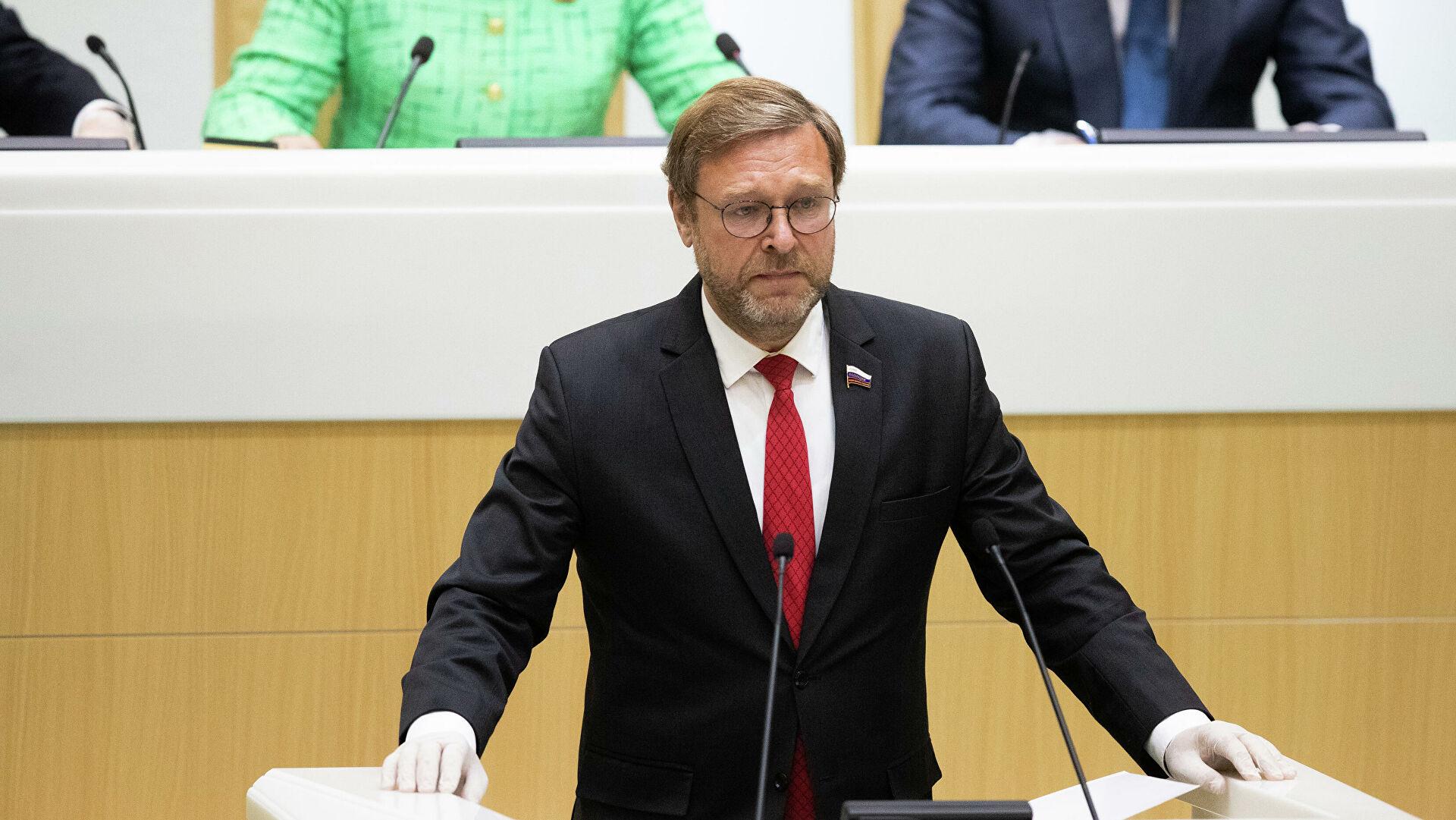 Косачoв: Естонски парламент и њему слични требали би схватити да је `ефикасна политика санкција` заобилазећи УН агресивна спољна политика у свом најчишћем облику