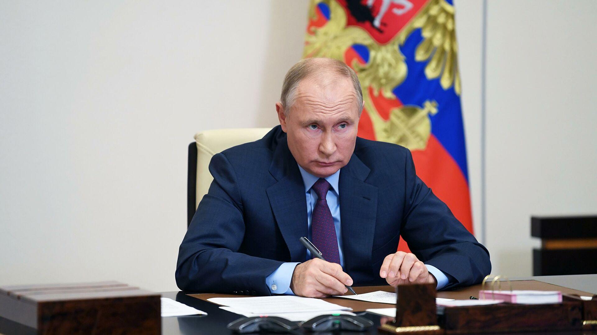Putin: Rusija se suočava sa politikom obuzdavanja čiji je cilj podrivanje vrednosti i narušavanje razvoja zemlje
