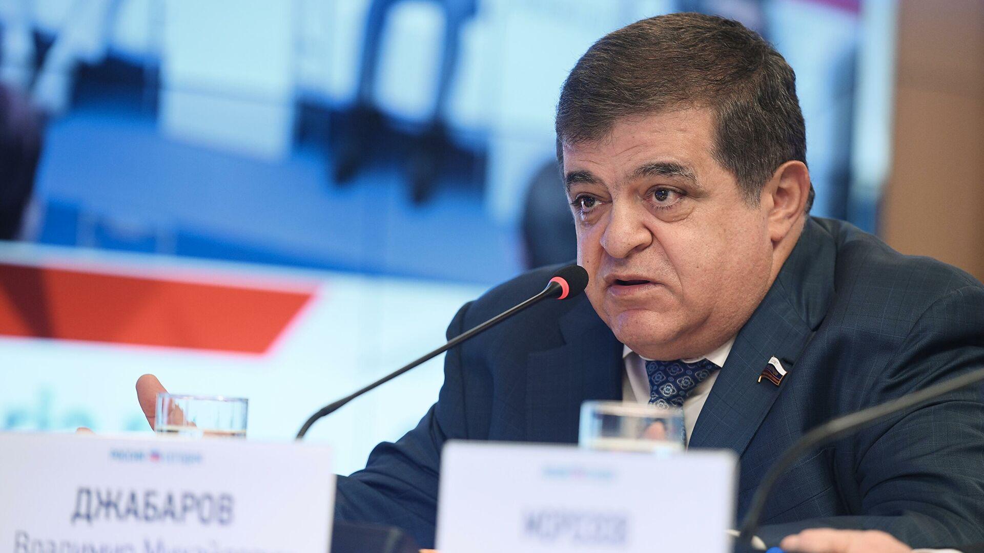Џабаров: Русија мора оштро одговорити на америчке санкције