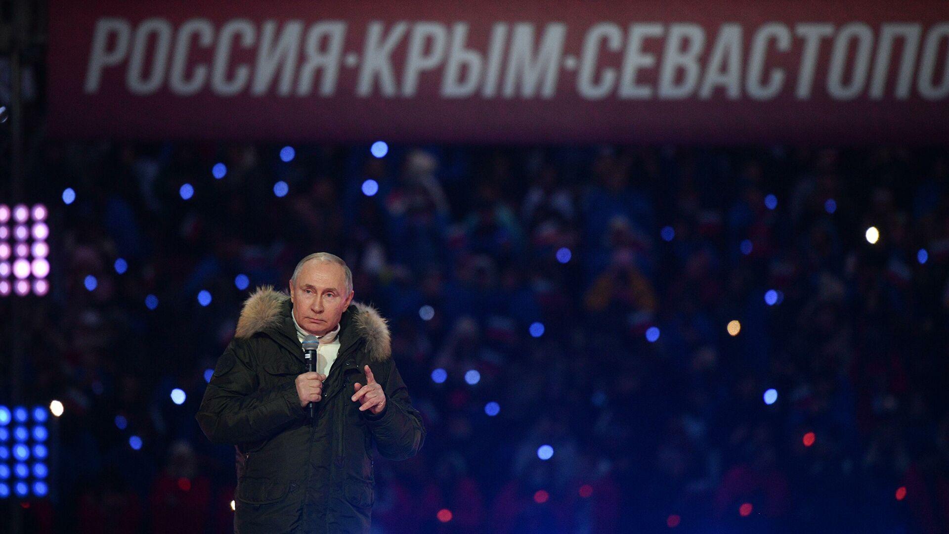 Путин: Крим је за Русију света земља и центар формирања духовног јединства