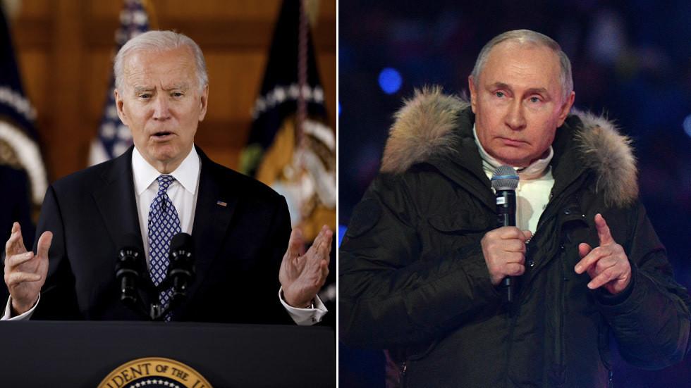 РТ: Министарство спољних послова жали због Бајденовог одбијања директне дискусије са Путином