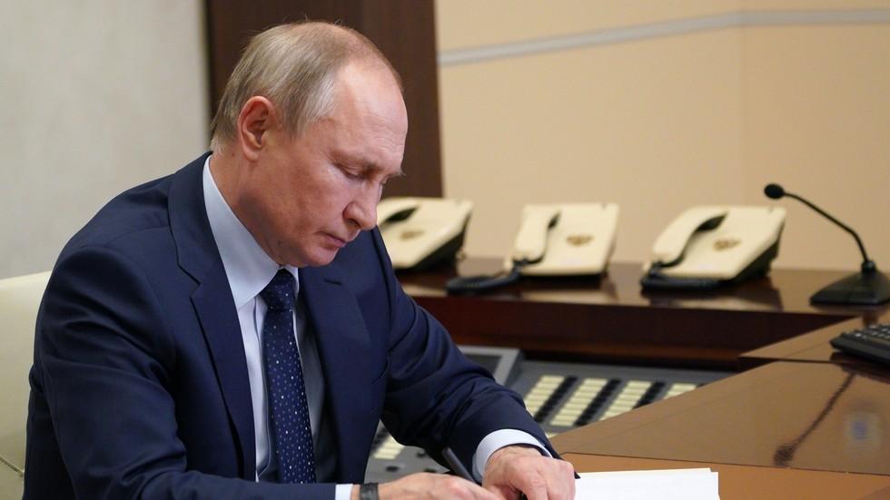 РТ: Путин позвао земље широм света да се направи нови правно обавезујући глобални уговор о сајбер простору