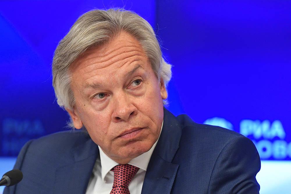 Puškov: Pridruživanje Ukrajine NATO-u će biti odlučujući korak ka konačnom gubitku Donbasa