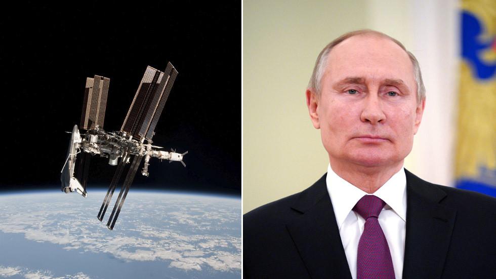 РТ: Док Међународна космичка станица показује знакове распада, Путин одобрио амбициозни план да Русија изврши њену замену
