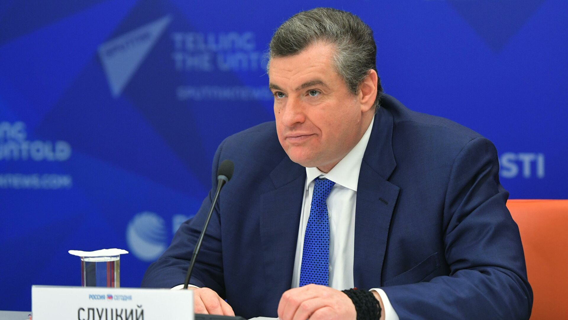 Slucki: Rusija se neće uvlačiti ni u kakve ratove, ona će ih završavati, sprečavati i spasavati ljude
