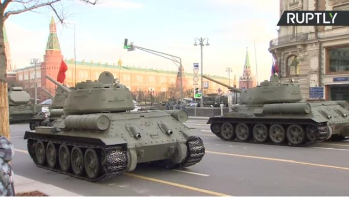Proba Parade pobede u Moskvi