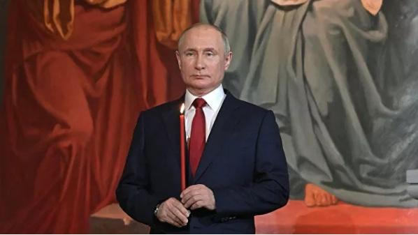 Putin: Praznik Vaskrsa, oličavajući trijumf života, dobrote i pravde, od velike je moralne važnosti
