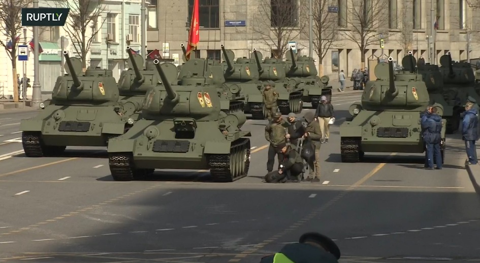 Generalna proba za Paradu pobede u Mosvki