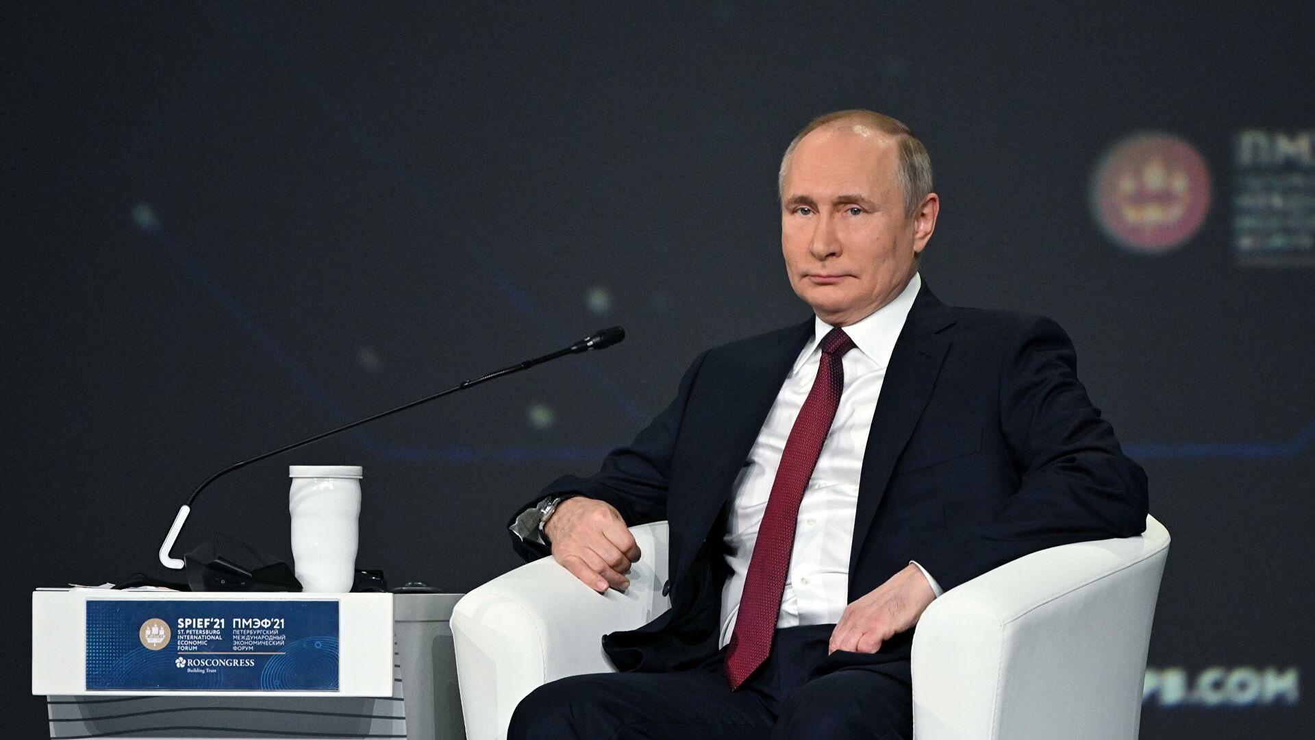 Путин: САД желе да зауставе наш развој, говоре о томе отворено