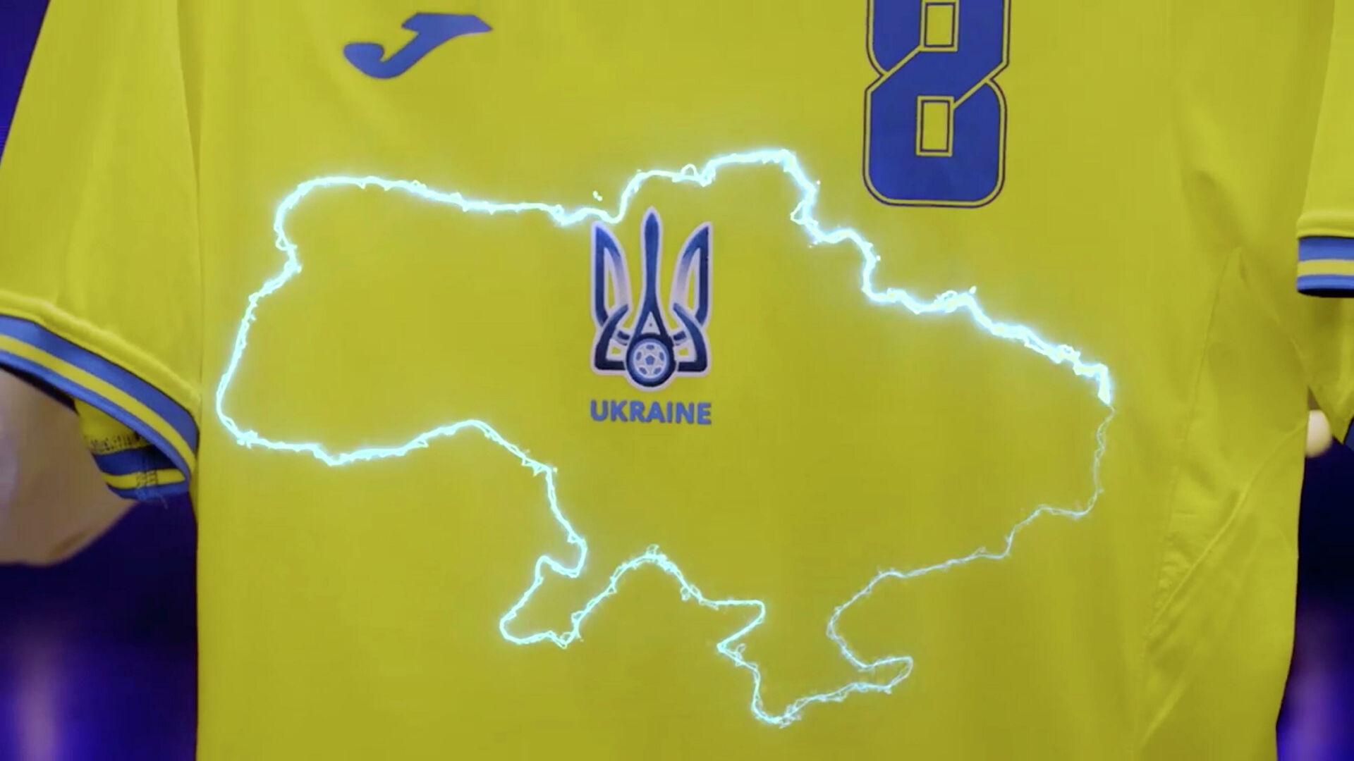 """УЕФА захтева да украјинска репрезентација уклони """"политичке"""" натписе са дресова"""