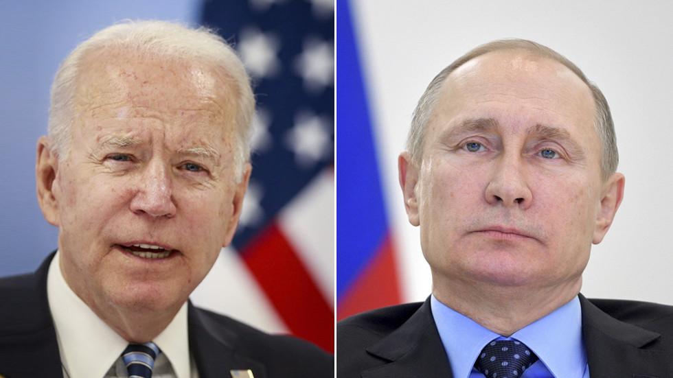РТ: Објављен дневни ред сусрета Бајдена и Путина: Разговараће се о коронавирусу, Украјини, хаковању, климатским променама и ситуацији на Блиском Истоку