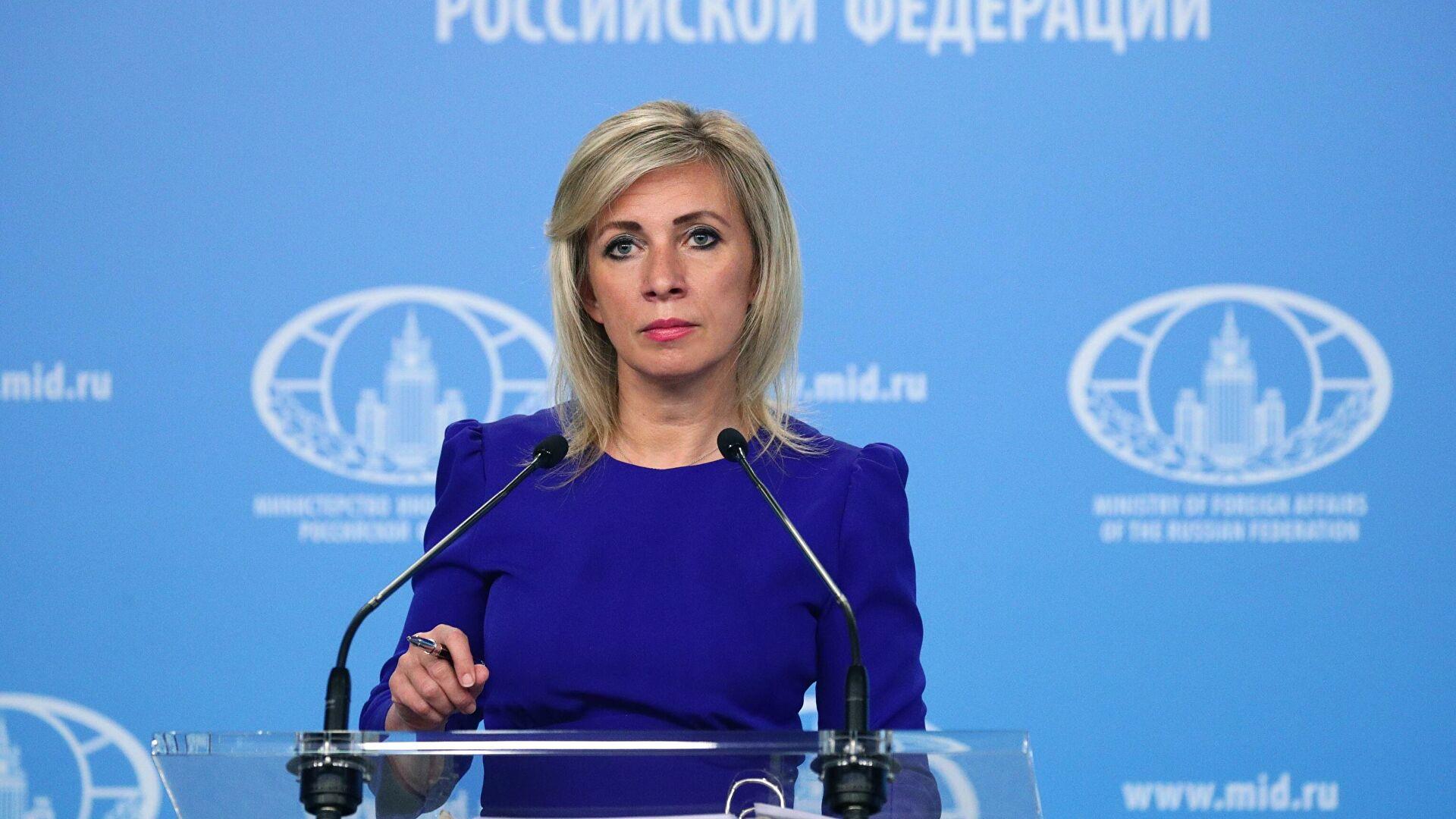 Захарова: Саопштење НАТО-а још један чин театра апсурда
