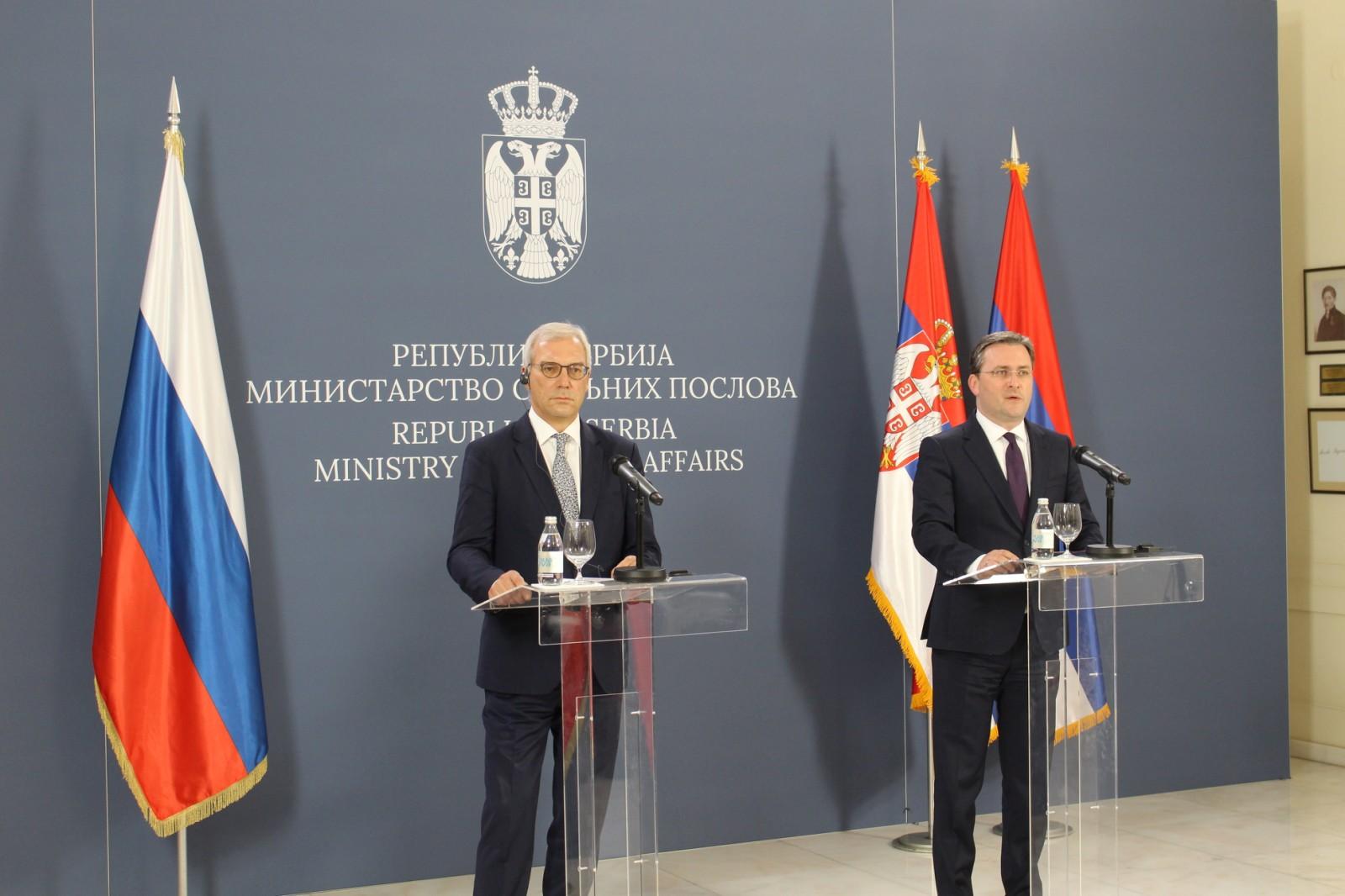 Грушко: Решавање питања Косова и Метохије треба да се тражи искључиво у оквиру Резолуције 1244